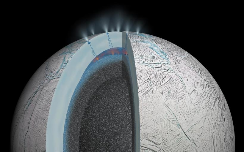 New data from the Cassini space probe determines that the subsurface ocean of Enceladus is very alkaline.  How does this effect the chance of finding life?